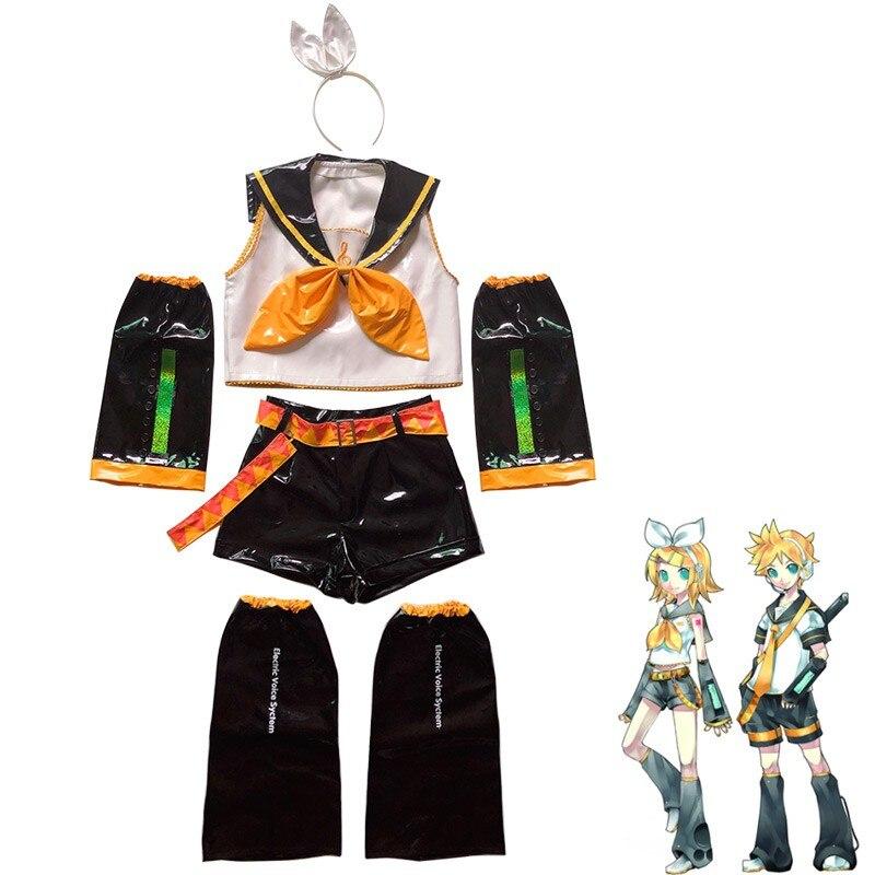 vocaloid-cosplay-kagamine-rin-kagamine-len-pu-uniformi-abiti-parrucca-costume-cosplay