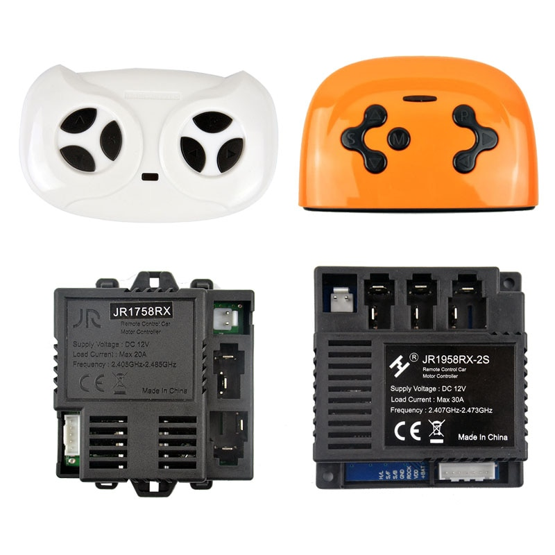 Jr1758rx crianças veículo elétrico remoto controllerjr1958 crianças receptor do carro controlador jr1858 placa-mãe acessórios