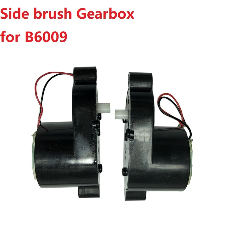 Replacement Side Brush Motor for Liectroux B6009 Robot Vacuum cleaner Spare Parts Right Left Side Brush Gearbox Accessory Black