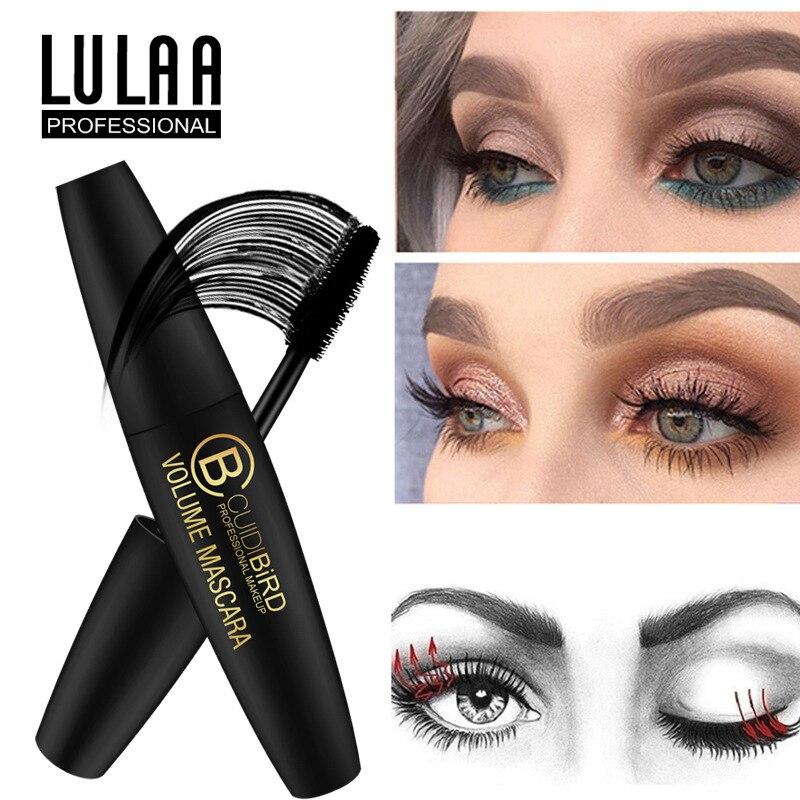 New 4D Fiber Lash Mascara Waterproof Quick Dry Extension Eyelash Black Thick Lengthening Eye Lashes Make Up Cosmetics TSLM2