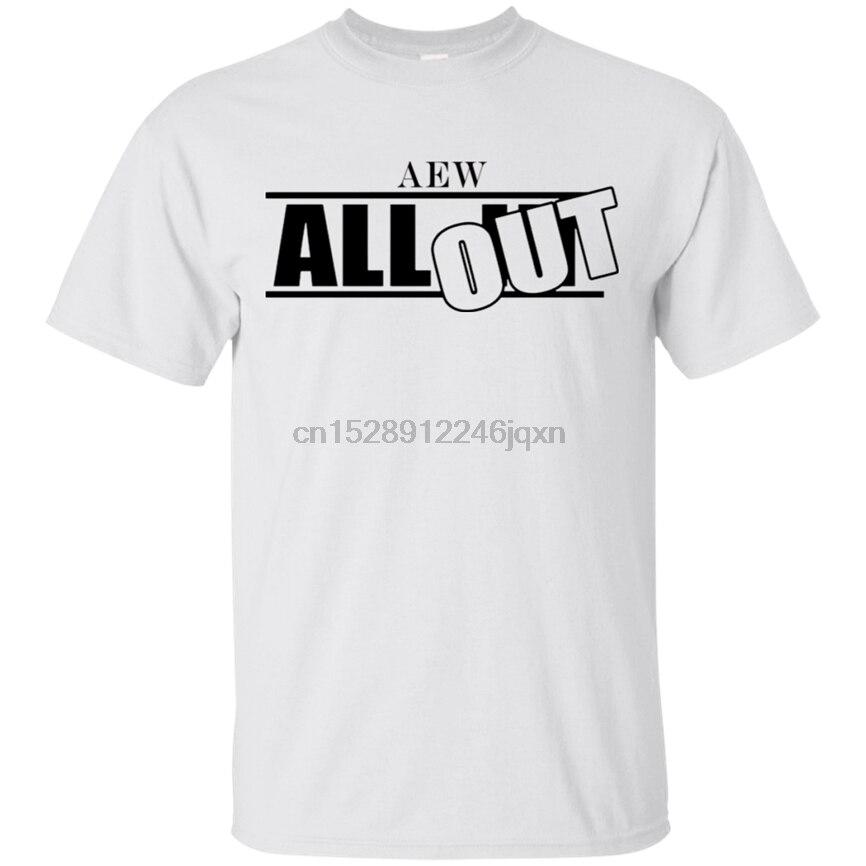 Florida para toda la Elite y sup2 Lucha Libre Aew y sup2 camiseta blanca 2019 hombres S-3Xl algodón personalizar camiseta