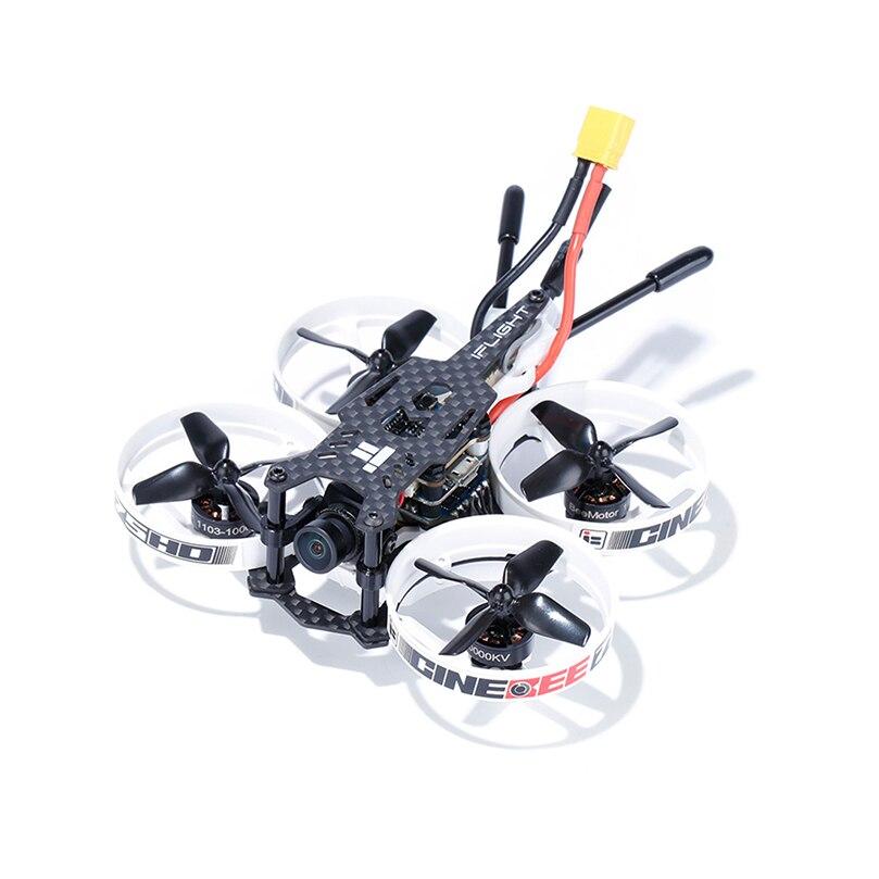 IFlight CineBee 75HD 75mm 2-3S SPLIT Nano HD FPV dwhoop Race Drone PNP BNF z dzieloną 3 kamerą Nano/Beemotor 1103 10000KV silnik