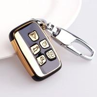 ABS Car Remote Key Shell Key Case For Land Rover Range Rover Sport Evoque Freelander 2 XJ XJL Jaguar XE XF X-X16 V12 F X