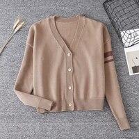 s l autumn womens sweater knitwear red soft sister lovely cute cartoon japanese korea jk teens girls sweet sweater cardigans