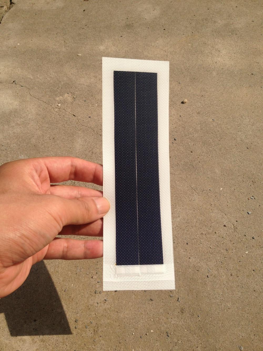 Batería recargable para sistema de energía solar móvil, panel solar personalizado profesional de 1w, 3V, 170MA, para iluminación del hogar