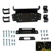 winch mounting plate for honda talon 1000r1000x 2019 1000x 4 2020 for the majority of aftermarket 3500 5000 lb winches