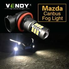 1 шт. Автомобильный светодиодный фары лампы H8 H11 H16 9006 HB4 P13W для Mazda 6 gg gh 5 3 8 CX-5 CX5 rx8 RX-8 cx 7 323 MX-5 Miata CX-9 CX-3