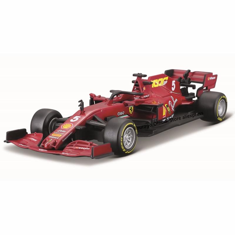 Bburago 1:43 2020 فيراري F1 SF1000 #5 سيباستيان فيتل, مركبة فاخرة ، دييكاست ، نموذج سيارة ، لعبة ، هدية