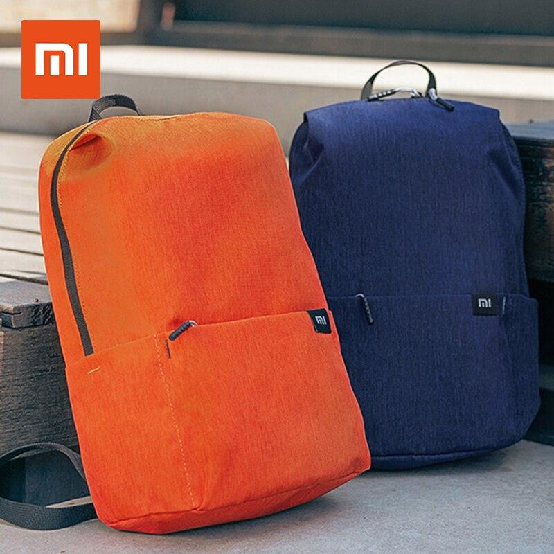 Mochilas originales Xiaomi 10L, 8 colores, 165g, bolsas para el pecho deportivas de ocio urbano, bolsas para hombre y mujer, bandoleras de talla pequeña