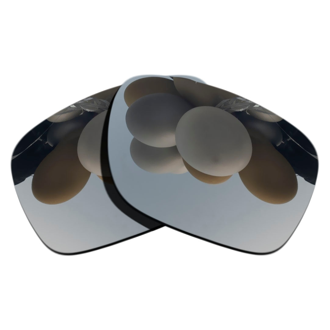 Silver Mirrored Polarized Replacement Lenses for Ray-Ban RB4165-54mm Sunglasses Frame 100% UVA & UVB