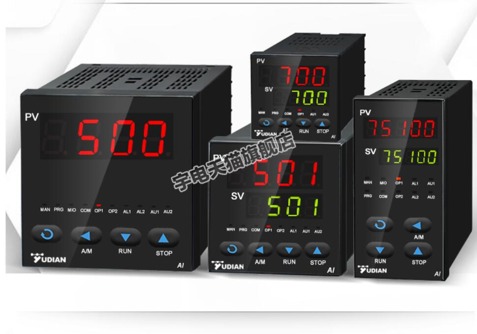 Yudian ذكي درجة الحرارة شاشة ديجيتال AI-500/501/700/701/751 قناة واحدة قياس شاشة إنذار أداة