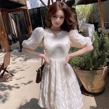 Blue Floral Sexy Maxi Casual Dress Elegant For Women Summer New Waist-Tight Vestidos Ladies Dresses