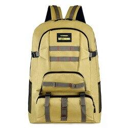 Novo multi-função tático saco de montanhismo camuflagem ao ar livre mochila combinação saco de viagem simples