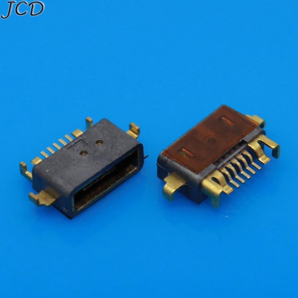 JCD 1 piezas mi cro conector USB conector enchufe base 5pin para Xiaomi mi 2 mi 2 M2A 2A puerto de carga 2S