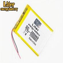 3 ligne 385569 3.7V 2200mah Lithium tablette polymère batterie avec carte de Protection pour GPS tablette PC produits numériques