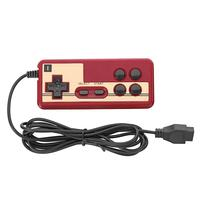 Универсальный игровой контроллер для Coolboy Subor, проводной 8-битный игровой джойстик для ТВ, красного и белого цвета, ручной контроллер для гей...