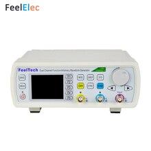 Feeltech FY6600-60MHz haute précision contrôle numérique double canal fonction DDS/générateur de Signal arbitraire