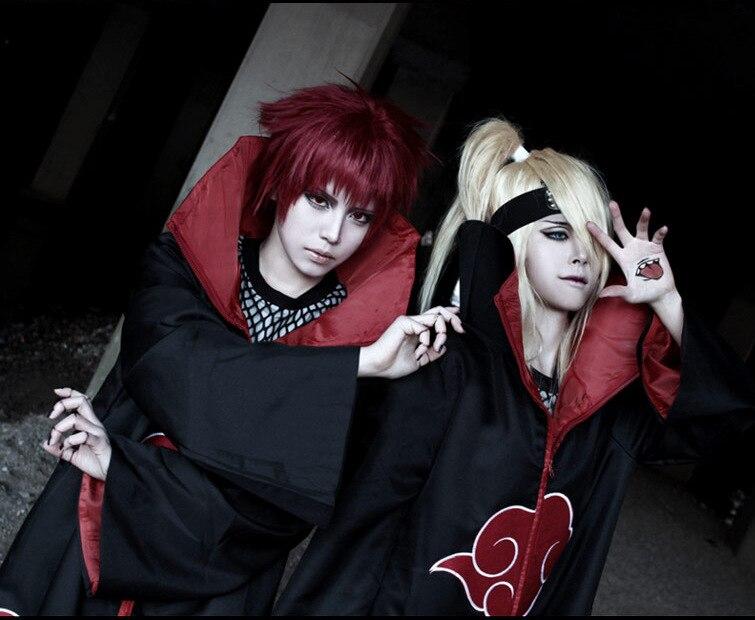 Venta caliente Cosplay Naruto Akatsuki/Uchiha Itachi Cosplay fiesta de Navidad traje de capa traje de Halloween