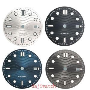 ETA 2824 2836 MIYOTA series 82 movement 31mm black/grey/blue/silver white sterile dial