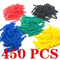 heat shrink tubes 450pcs cable sleeves protector pc tubing wrapping heating protection for winding wires connection kit tubing