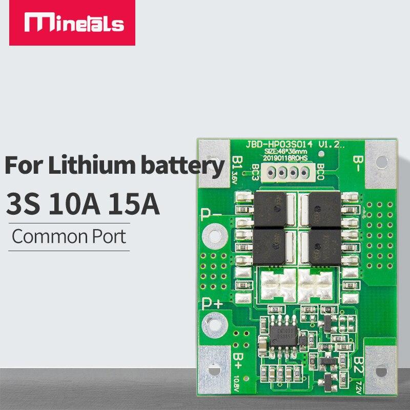 Bms 3s 12v schutz bord Li-Ion Lithium-Batterie Ladegerät Schutz Bord 18650 BMS 11,1 V 12,6 V/14,8 V 16,8 V pcm