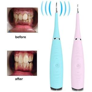 5 Вт электрический зубной скалер IPX6 высокочастотный полировщик зубов средство для удаления косточек отбеливание зубов очистка зубной клетчатый скребок