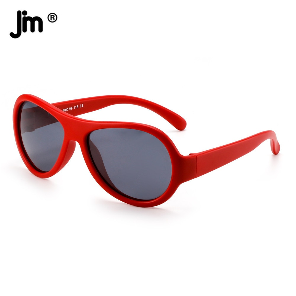 TPE Frame Vintage Pilot Polarized Kids Sunglasses for Boys Girls Retro Children Sunglasses UV400
