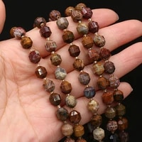 natural stone semi precious stone faceted bead for diy jewelry making diy bracelet accessories specification 8mm