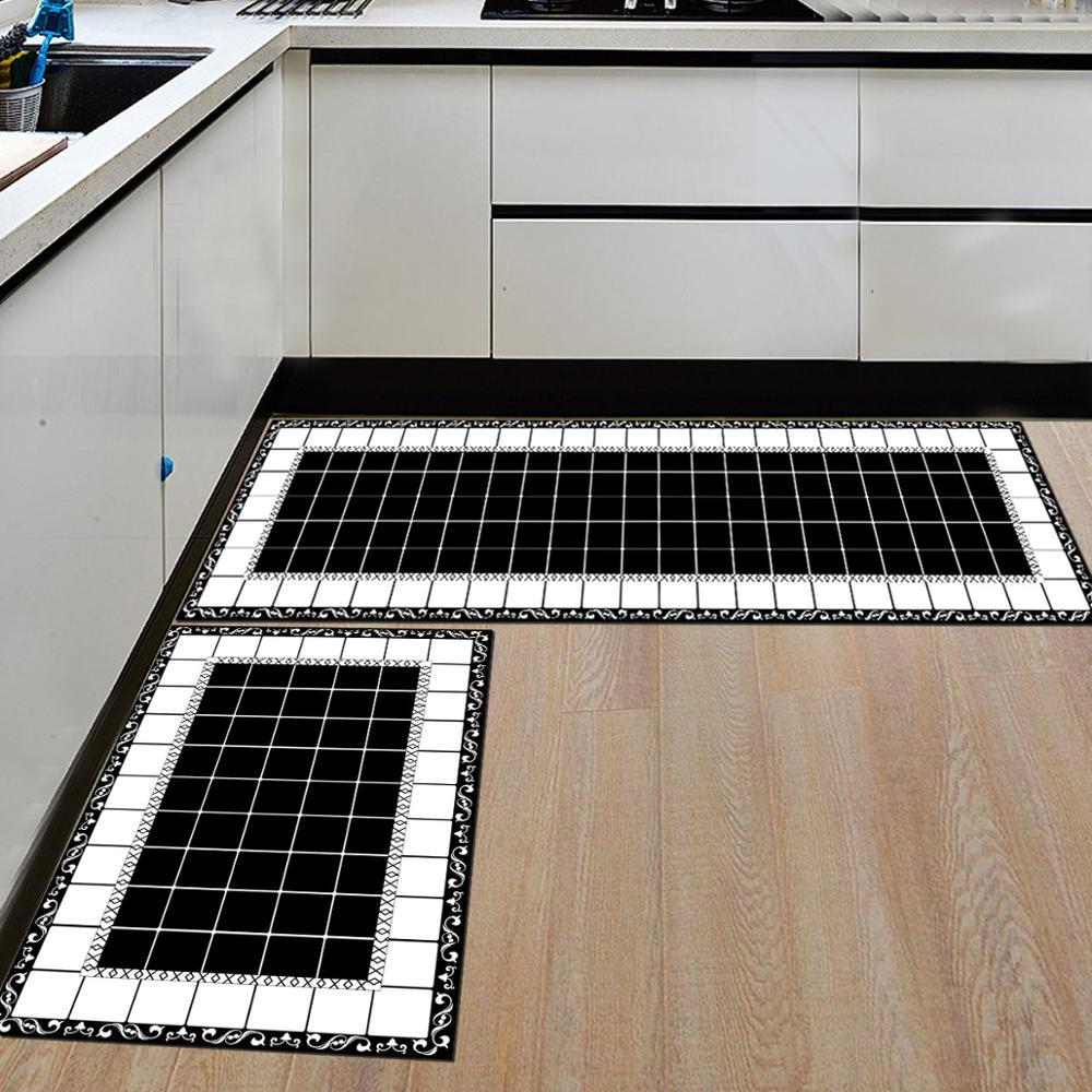 المطبخ حصيرة ممسحة المنزل شرفة السجاد طويل قطاع نوع المضادة للانزلاق الحمام امتصاص الماء الحصير