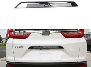 Car Rear Door Trunk Lid Protect Cover Trim Fits for Honda- CR-V- CRV 2017 2018 2019 2020 - Silver