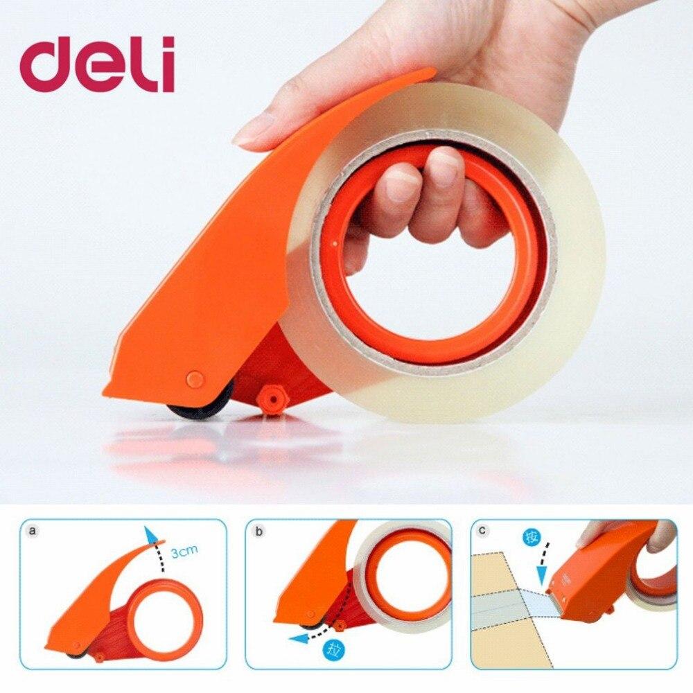 Dispensador de cinta DISPOSITIVO DE SELLADO Manual cortador de cinta sellador de cartón ancho 48mm máquina de corte de embalaje DropShipping