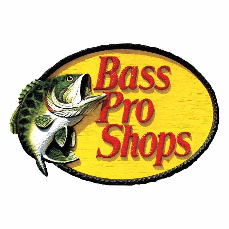 Купить с кэшбэком 9x13cm Bass Pro Shop Style  PVC Car-Sticker Decal Car-Window Decorative Goods   .