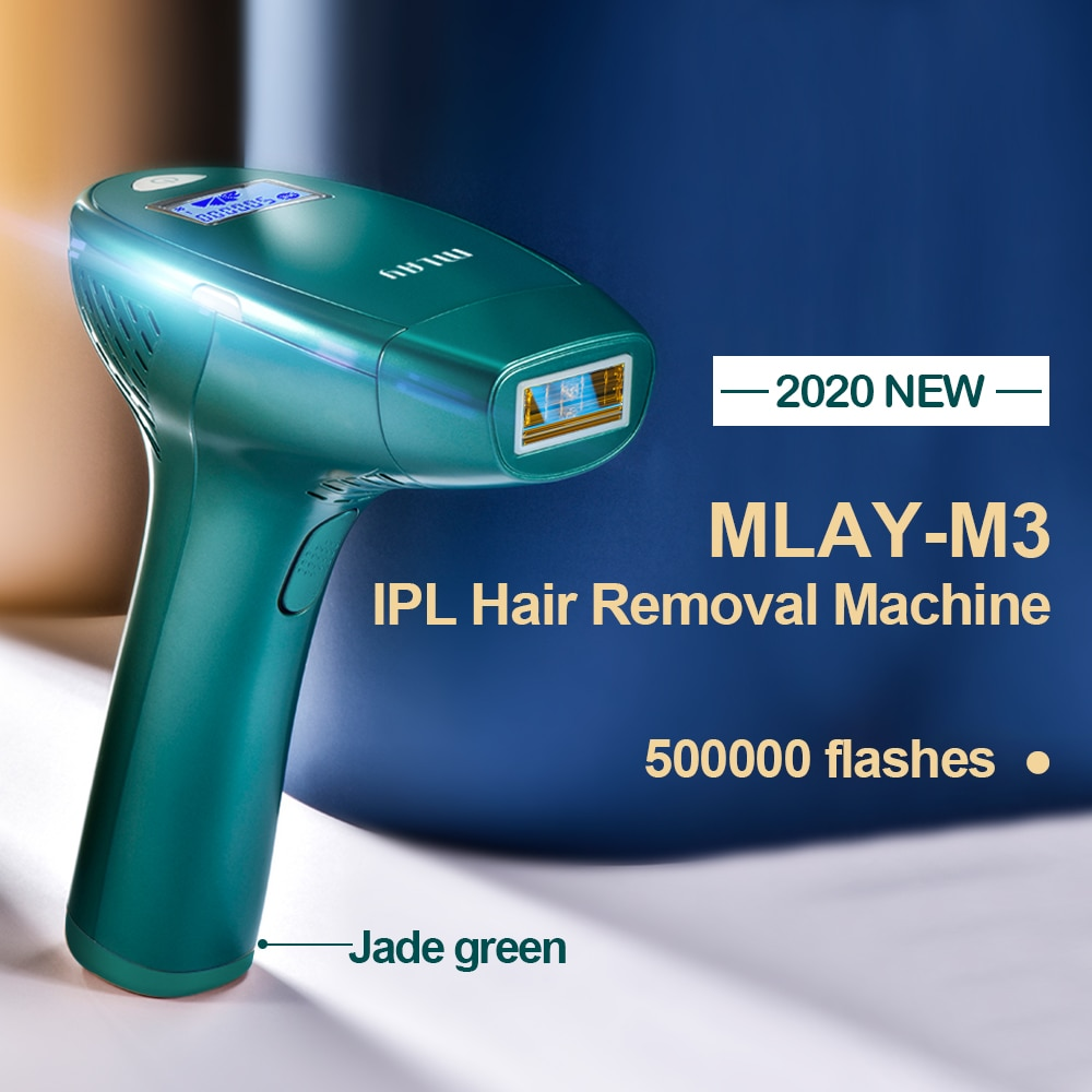 New Updated MLAY M3 MLAY Laser Depilador a Laser IPL Hair Removal Machine Permanent Bikini Trimmer Face Body Hair removal enlarge