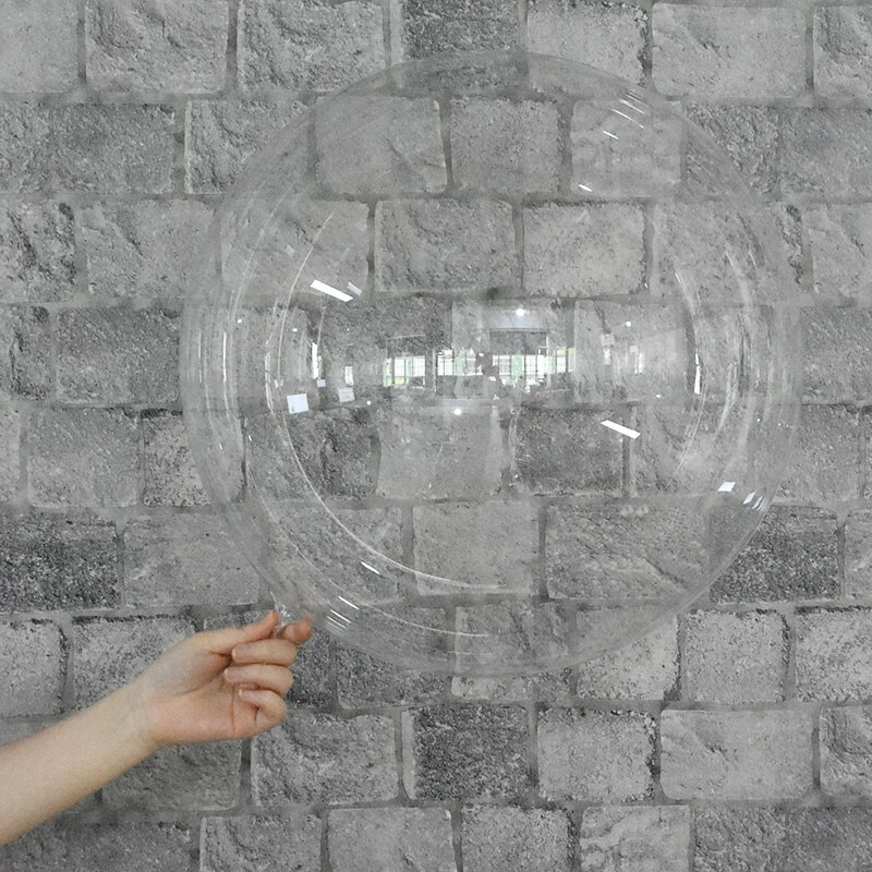 18/20/24/36 pouces PVC ballons Transparent Bobo ballons mariage fête danniversaire décoration enfants cadeau jouets hélium gonflable cadeaux