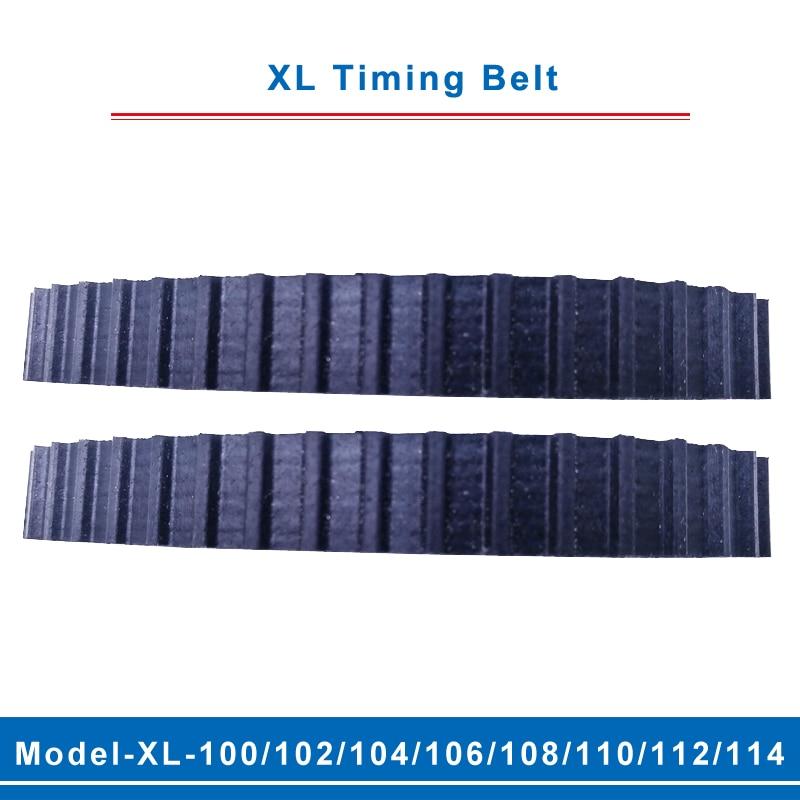 XL Correa model-102XL/104XL/106XL/108XL/110XL/112XL/114XL cinturón dientes paso 5,08mm ancho 10/15mm para polea dentada XL