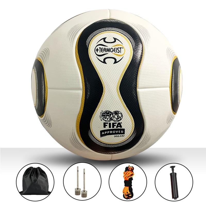Professional Soccer Ball Size 5 Ball Official Football Ball League Match Training Balls futbol voetbal Customizable Soccer