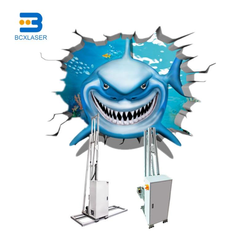 3D Белый УФ принтер настенный принтер для печати на кружках кружечный Печатный на обои на стену или любую ровную поверхность