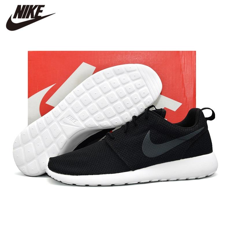 Chaussures de sport de plein air NIKE ROSHE RUN hommes noir 511881-010
