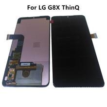 Per 6.4 LG G8X ThinQ Display LCD + Touch Panel Digitizer Assembly LG G8X ThinQ Display Amoled di Ricambio di Riparazione le parti + Strumenti
