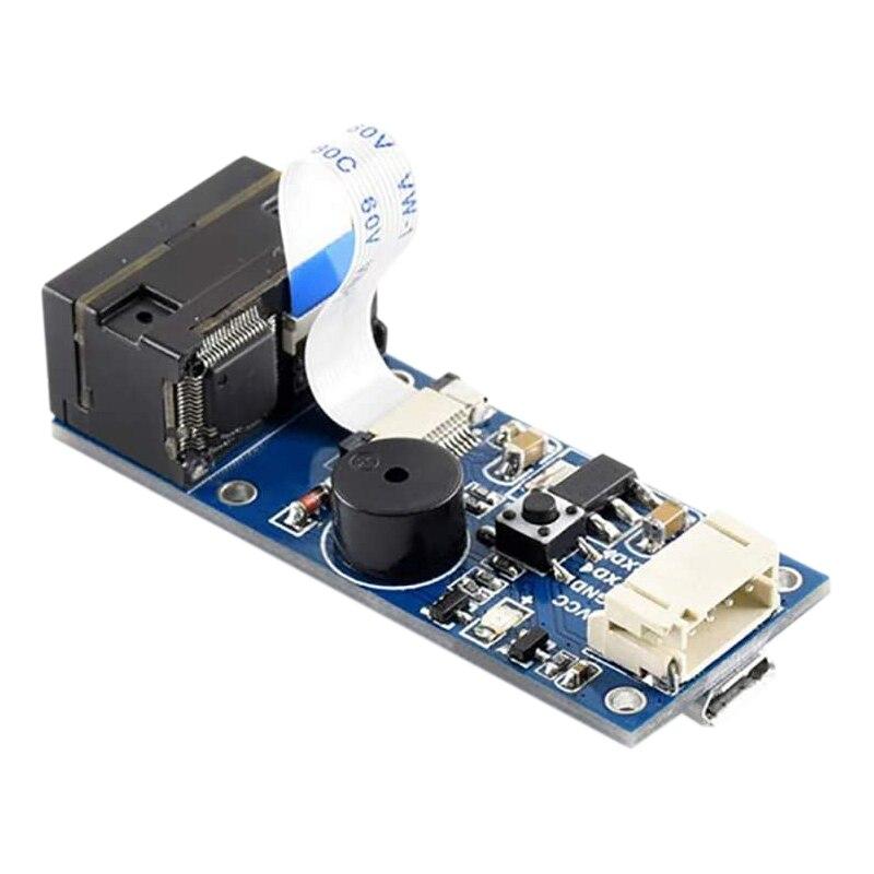Waveshare-وحدة ماسح الباركود ، قارئ رموز 1D/2D ، UART ، واجهة USB يمكن أن تعمل في الظلام