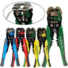 HS-D1 pince à sertir coupe-câble automatique dénudeur multifonctionnel dénudage outils pince à sertir Terminal 0.2-6.0mm2 outil