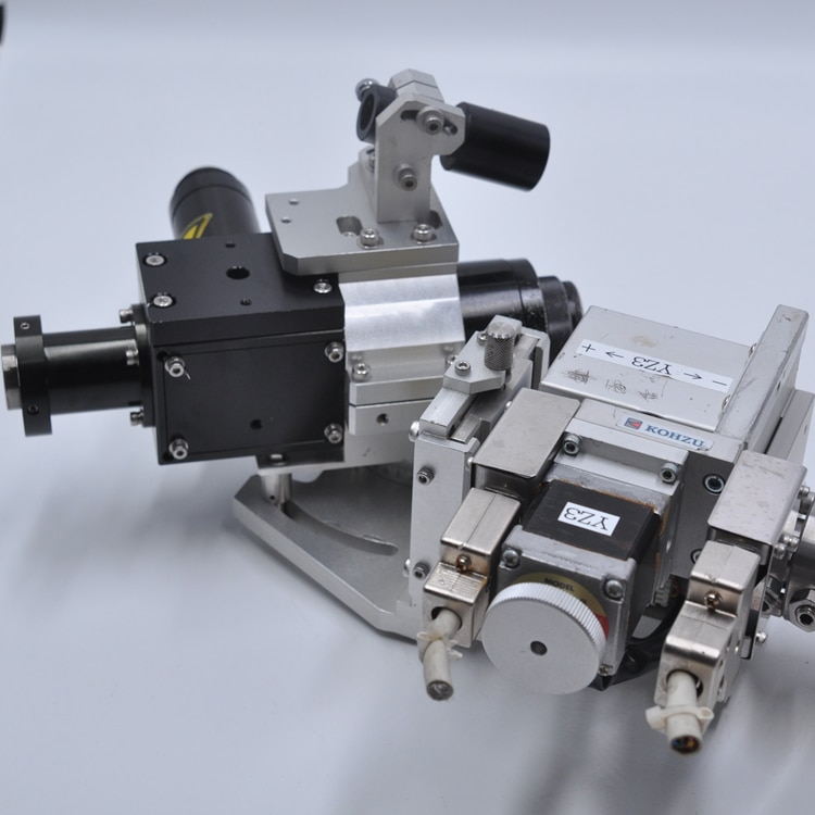 Japan KOHZU bio-optical laser with electric double lifting table high-precision rotating table enlarge