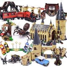 Harri film 2 château Express Train blocs de construction maison briques ville créateur Action 75951 jouets Figure pour enfants