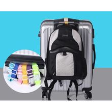 Luggage Straps Adjustable Nylon Luggage Accessories Hanging Buckle Straps Suitcase Bag Straps Colorf