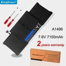 "KingSener Nuova Batteria Del Computer Portatile A1496 Per Apple MacBook Air 13 ""A1466 2013/2014/2015 A1496 MD760LL/UN MD761CH/A 7.6V 7150mAh"