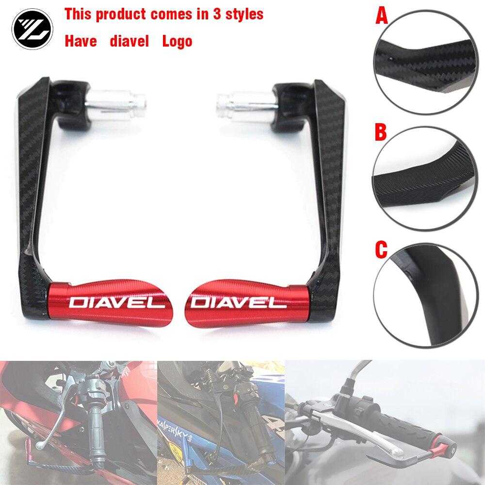 Garde-mains de moto pour Ducati   Pour Ducati Diavel Diavel 2011 2012 2013 2014 2015, poignées protection des poignées de barre, leviers de protection