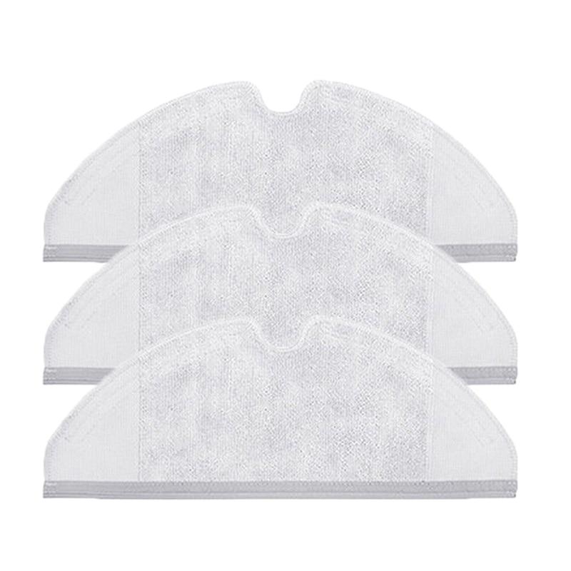 3 piezas de paño de fregona limpiar trapo húmedo seco para Roborock S50 Xiaomi aspiradora para el hogar ofertas relampago Toalla de microfibra toalla de cocina