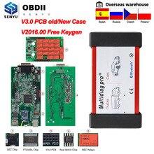 Multidiag Pro 2019 V 3,0 alten Fall 2016,00 OBD2 Bluetooth Scanner OBD 2 OBD2 Auto Diagnose Auto Werkzeug Für Scania lkw Code Reader