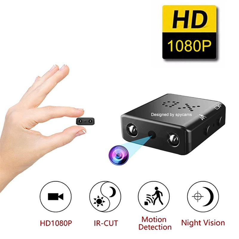 Minicámara De acción De 1080P para casa inteligente, cámara De visión nocturna,...
