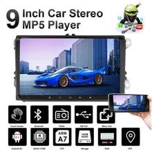 2 + 32G 2Din Android 9,1 Car Radio reproductor Multimedia GPS para VW /Volkswagen/Skoda/Passat/Jetta/MK5/MK6/Polo/GOLF/Touran estéreo del coche